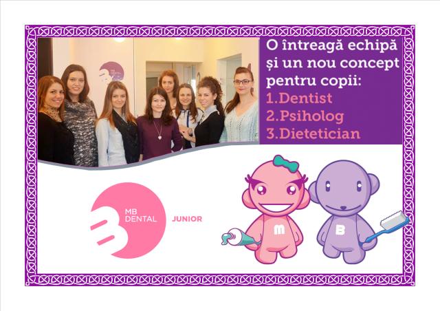 echipa tratamente stomatologice copii
